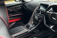 BNPS.co.uk (01202 558833)<br /> Pic: SilverstoneAuctions/BNPS<br /> <br /> Exclusive: The leather and alcantara covered cockpit of the limited edition car. <br /> <br /> A limited edition Aston Martin that was built to mark the 50th anniversary of one of the most popular James Bond movies has emerged for sale for around £300,000.<br /> <br /> The DBS Superleggera was one of just 50 created last year to commemorate five decades since the release of On Her Majesty's Secret Service.<br /> <br /> The movie, which came out in 1969, was the first in the franchise not to feature Sean Connery and instead starred George Lazenby as 007.