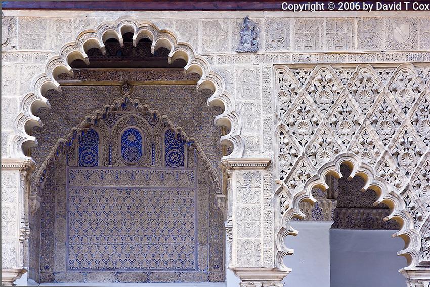 Patio de las Doncellas, Real Alcazar, Sevilla, Spain