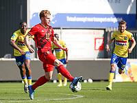 Yorbe Vertessen (11) of Belgium in action during a friendly soccer game between KVC Westerlo and Belgium U21 on Tuesday 30 th of March 2021  in Het Kuipje , Westerlo Belgium . PHOTO SPORTPIX.BE | SPP | SEVIL OKTEM