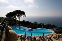 Hotel Caesar Augustus in Anacapri, Pool, Capri, Italien