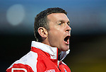 Ross County v St Johnstone....07.04.15   SPFL<br /> Ross Cty manager Jim McIntyre<br /> Picture by Graeme Hart.<br /> Copyright Perthshire Picture Agency<br /> Tel: 01738 623350  Mobile: 07990 594431