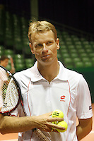 19-9-07, Netherlands, Rotterdam, Daviscup NL-Portugal, Captain Jan Siemerink