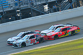 NASCAR XFINITY Series<br /> TheHouse.com 300<br /> Chicagoland Speedway, Joliet, IL USA<br /> Saturday 16 September 2017<br /> Erik Jones, NBA 2K18/GameStop Toyota Camry, Ryan Blaney, Discount Tire Ford Mustang, Justin Allgaier, BRANDT / Celebrating the Future of AG Chevrolet Camaro, Cole Custer, Haas Automation Ford Mustang<br /> World Copyright: Logan Whitton<br /> LAT Images