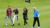Dr Michael Smurfit walks with some relatives during the Pro-Am ahead of the 2016 Dubai Duty Free Irish Open hosted by The Rory Foundation and played at The K-Club, Straffan, Ireland. Picture Stuart Adams, www.golftourimages.com: 18/05/2016