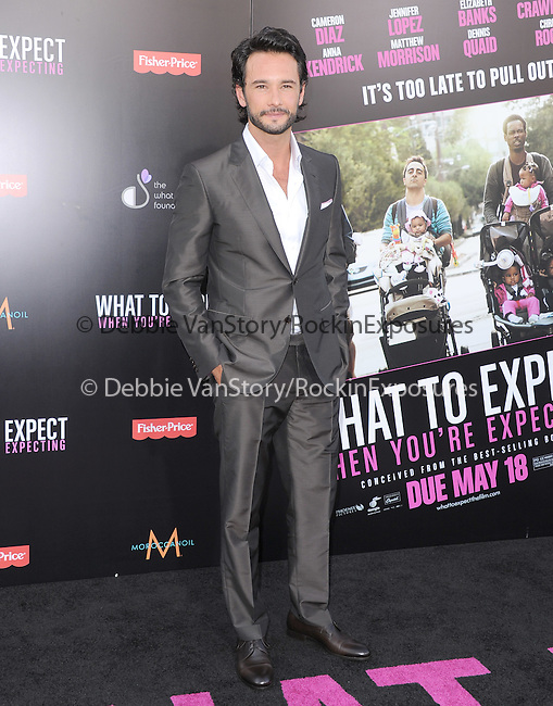 Rodrigo Santoro at Lionsgate L.A. Premiere of  What to Expect When You're Expecting held at The Grauman's Chinese Theatre in Hollywood, California on May 14,2012                                                                               © 2012 Hollywood Press Agency