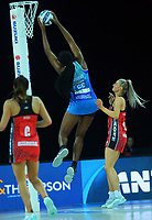 Mystics' Grace Nweke during the ANZ Premiership netball final between Northern Mystics and Mainland Tactix at Spark Arena in Auckland, New Zealand on Sunday, 8 August 2021. Photo: Dave Lintott / lintottphoto.co.nz