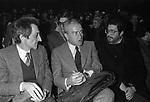 PIETRO INGRAO CON ETTORE SCOLA AL TEATRO TENDA 1977