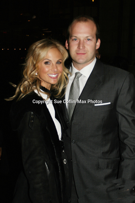 The View's Elisabeth Hasselbeck and husband Tim Hasselbeck at the ABC Daytime Casino Night on October 23, 2008 at Guastavinos, New York CIty, New York. (Photo by Sue Coflin/Max Photos)