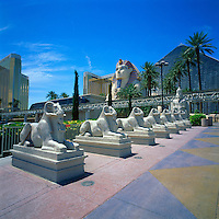 Las Vegas, Nevada, USA - Luxor Resort Hotel and Casino along The Strip (Las Vegas Boulevard)