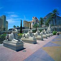 Las Vegas, Nevada, USA - Luxor Resort Hotel and Casino along The Strip (Las Vegas Boulevard)