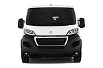 Car photography straight front view of a 2018 Peugeot Boxer Active 4 Door Combi