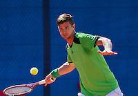 September 03, 2014,Netherlands, Alphen aan den Rijn, TEAN International, Antal van der Duim (NED)<br /> Photo: Tennisimages/Henk Koster