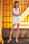 Spanish models Laura Sanchez pose during Licor 43 presentation in Madrid, Spain. January 29, 2015. (ALTERPHOTOS/Victor Blanco)