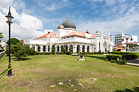George Town, Penang, Malaysia.  Kapitan Keling  Mosque.