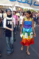 """- manifestation for the liberation of the two volunteers of humanitarian organization """"a Bridge For"""" kidnapped in Bagdad, Iraq....- manifestazione per la liberazione delle due volontarie dell'organizzazione umanitaria """"Un Ponte Per""""  rapite a Bagdad in Iraq"""