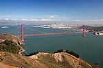 United States of America, California, San Francisco: The Golden Gate Bridge | Vereinigte Staaten von Amerika, Kalifornien, San Francisco: The Golden Gate Bridge