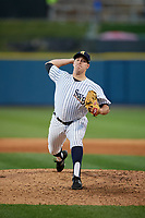 Scranton/Wilkes-Barre RailRiders relief pitcher J.R. Graham (53) during a game against the Pawtucket Red Sox on May 15, 2017 at PNC Field in Moosic, Pennsylvania.  Scranton defeated Pawtucket 8-4.  (Mike Janes/Four Seam Images)