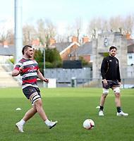 18th March 2021;  Marcus Rea during Ulster Rugby Captain's Run held at Kingspan Stadium, Ravenhill Park, Belfast, Northern Ireland. Photo by John Dickson/Dicksondigital