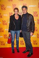 HÈlËne de Fougerolles et Marc Simoncini ‡ l'avant premiËre du film BABY PHONE ‡ l'UGC Normandie ‡ Paris le 20 fÈvrier 2017 # PREMIERE DU FILM 'BABY PHONE' A PARIS