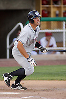 August 3, 2009:  Jason Morales of the Idaho Falls Chukars, Rookie Class-A affiliate of the Kansas City Royals, during a game at the Orem Owlz Ballpark in Orem, UT. Photo by: Matthew Sauk/Four Seam Images