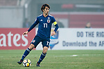Japan vs Uzbekistan during the AFC U23 Championship China 2018 Quarter-finals match at Jiangyin Stadium on 19 January 2018, in Jiangyin, China. Photo by Yu Chun Christopher Wong / Power Sport Images