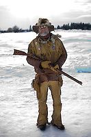 Lester Johnson has been attending the Whitefish Winter Carnival for nearly 30 years. The Skijoring event that kicked off the Whitefish Winter Carnvial this year was an event that once disappeared from the town's list of events. It returned in 2003 when local businessman and event partcipant helped bring the World Skijoring Championships back to the Whitefish culture.