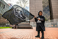 MARCH 28 - Minneapolis, MN: Protests and demonstrations outside the Hennepin County Courthouse a day before the start Derek Chauvin Trial on March 28, 2021 in  Minneapolis, Minnesota. <br /> CAP/MPI/IS/CT<br /> ©CT/IS/MPI/Capital Pictures