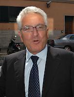 Roma, 7/9/2004: Riunione Consiglio Federale Figc.<br /> Antonio Matarrese, ex Presidente della Figc<br /> Photo: Serena Cremaschi Insidefoto