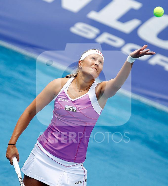 Lucie Hradecka during Madrid Open Tennis 2012 Match.May, 7, 2012(ALTERPHOTOS/ALFAQUI/Acero)