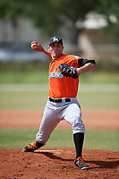 Miami Marlins pitcher Parker Bugg (82) during a Minor League Spring Training Intrasquad game on March 27, 2018 at the Roger Dean Stadium Complex in Jupiter, Florida.  (Mike Janes/Four Seam Images)