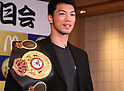 Japanese boxing champion Ryota Murata attends McDonald's promotional event