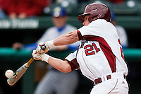 Kyle Atkins (21);March 9th, 2010; South Dakata State University vs Arkansas Razorbacks at Baum Stadium in Fayetteville Arkansas. Photo by: William Purnell/Four Seam Images