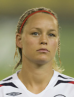 Norway forward (11) Leni Kaurin. Norway tied Australia 1-1 in their FIFA Women's World Cup China 2007 Group C opening round match at Hangzhou Dragon Stadium in Hangzhou, China on September 15, 2007.