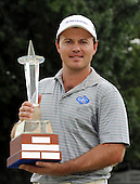 JOHANNESBURG SOUTH AFRICA FEBRUARY 10 -  Richard Sterne of South Africa Winner of the 2013 Joburg Open Golf Challenge at the Royal Jhb and Kensington Golf course. This is his second win of this Tournament. He won it back in 2008 as well...Photo: Catherine Kotze/SASPA Picture via Golffile..Byline: Catherine Kotze/www.golffile.ie