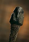 Serpentinite Shabti of Amenhotep II; KV35,Tutankhamun and the Golden Age of the Pharaohs; page 151
