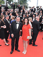Cannes France May 12 2016 Antoine Dulery, Pascale Pouzadoux attends the Money monster Premiere at the Palais des Festival During the 69th Annual Cannes Film Festival