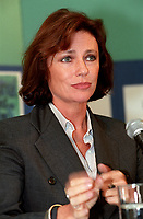 la Presidente du Jury ,Jacqueline Bisset, au Festival des Films du Monde 1997<br /> (date exacte inconnue)<br /> <br /> PHOTO :  Agence Quebec Presse