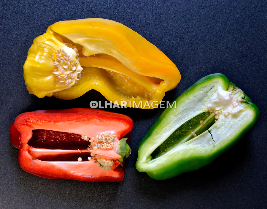 Alimentos. Legumes, Pimentao. Foto de Manuel Lourenço.