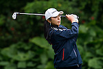 Mi-Jung Hur of Korea in action during the Hyundai China Ladies Open 2014 on December 12 2014 at Mission Hills Shenzhen, in Shenzhen, China. Photo by Li Man Yuen / Power Sport Images