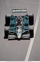 27th May 1979. Monte Carlo, France; CARLOS REUTEMANN (ARG), Martini Racing Lotus, Monaco Grand Prix, Monte Carlo