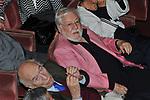 GIULIANO MONTALDO CON PAOLO VILLAGGIO<br /> TEATRO QUIRINO PER LA PRESENTAZIONE LIBRO DI FRANCESCO ROSI<br /> ROMA 2012