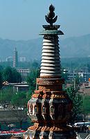 China, Chengde, Puning Si (Tempel), Unesco-Weltkulturerbe