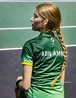 Rotterdam, The Netherlands, 9 Februari 2020, ABNAMRO World Tennis Tournament, Ahoy, Qualyfying round: Ballgirl<br /> Photo: www.tennisimages.com