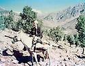 Iraq 1983 <br /> Ura, village of Berwari Bala, Nechirvan Ahmed riding a horseI on his way to visit his family <br /> Irak 1983 <br /> Au village de Ura, region de Berwari Bala, Nechirvan Ahmed a cheval en route pour aller voir sa famille