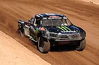 Mar. 18, 2011; Chandler, AZ, USA;  LOORRS pro 4 unlimited driver Johnny Greaves during qualifying for round one at Firebird International Raceway. Mandatory Credit: Mark J. Rebilas-
