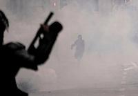 BOGOTA - COLOMBIA, 28-04-2021: Miles de personas se congregaron para marchar por las calles de la ciudad de Bogotá durante la jornada del Paro nacional en Colombia hoy, 28 abril de 2021, para protestar por la reforma tributaria que adelanta el gobierno de Ivan Duque además de la precaria situación social y económica que vive Colombia. El paro fue convocado por sindicatos, organizaciones sociales, estudiantes y la oposición. / Thousands of protesters gathered to march through the streets of the city of Bogota during the day of the national strike in Colombia today, April 28, 2021, to protest the tax reform carried out by the government of Ivan Duque in addition to the precarious social and economic situation that Colombia is experiencing. The strike was called by unions, social organizations, students and the opposition in Colombia. Photo: VizzorImage / Diego Cuevas / Cont
