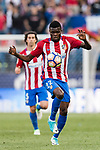 Thomas Teye Partey of Atletico de Madrid in action during the La Liga match between Atletico de Madrid vs Osasuna at Estadio Vicente Calderon on 15 April 2017 in Madrid, Spain. Photo by Diego Gonzalez Souto / Power Sport Images