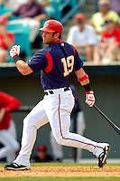 14 March 2006: Ryan Church, outfielder for the Washington Nationals, at bat during a Spring Training game against the Florida Marlins. The Marlins defeated the Nationals 2-1 at Space Coast Stadium, in Viera, Florida...Mandatory Photo Credit: Ed Wolfstein..