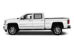 Car driver side profile view of a 2019 GMC Sierra 2500 Denali 4 Door Pick Up