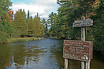 AuSable Fishing Sign